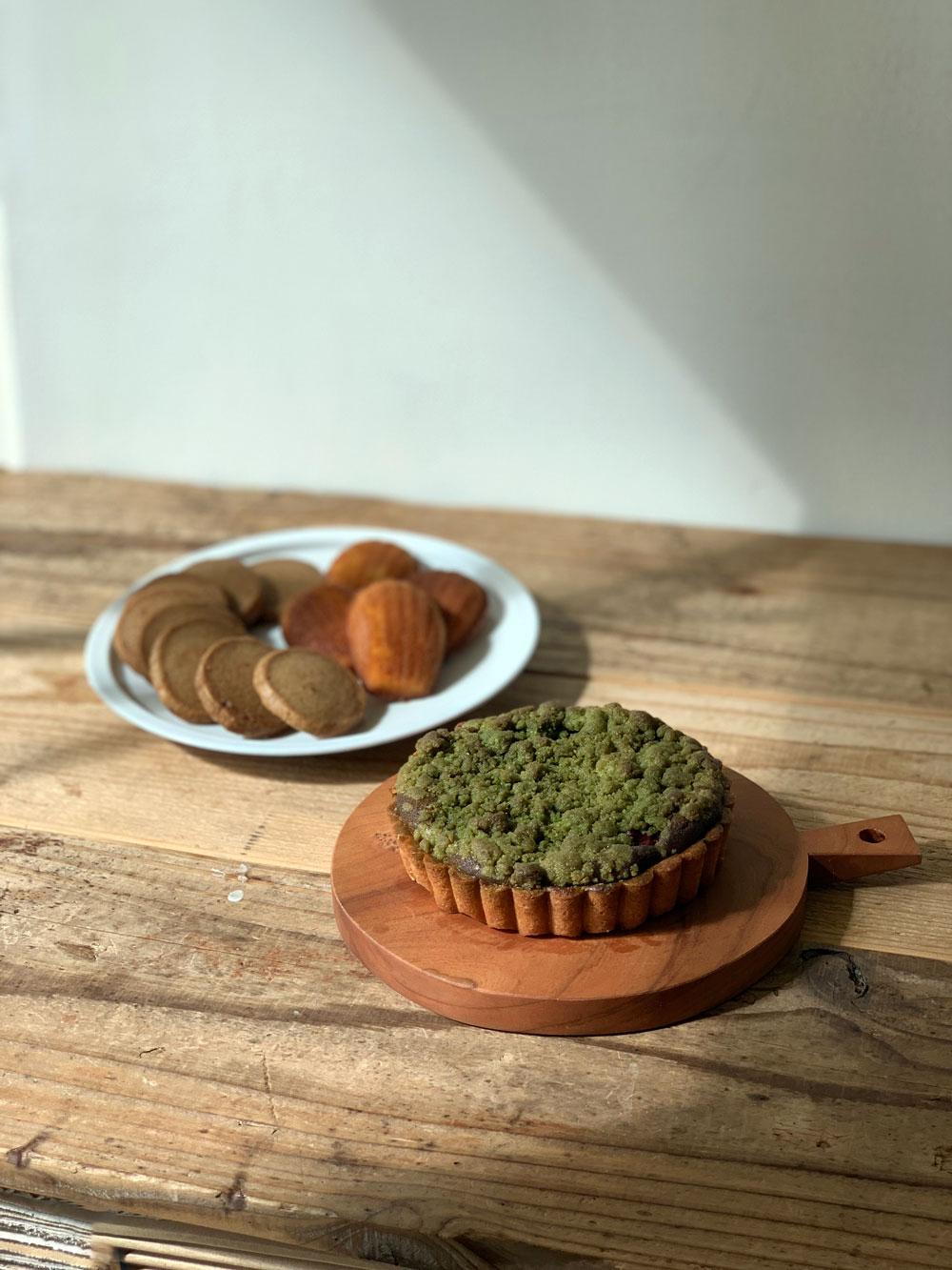 タルトと焼き菓子のセット