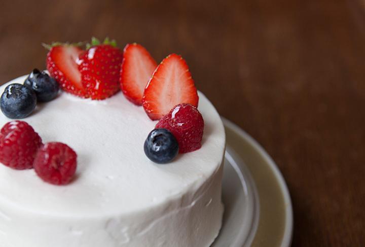 12/13(日)製菓教室 いちごのデコレーションケーキ