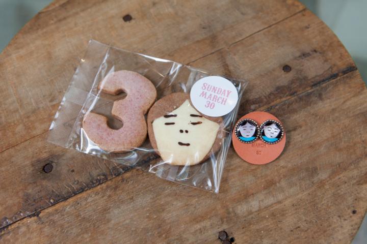 限定ズニこさんクッキー、ラズベリーマフィン