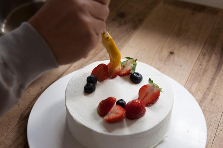 製菓教室「いちごのデコレーションケーキ」