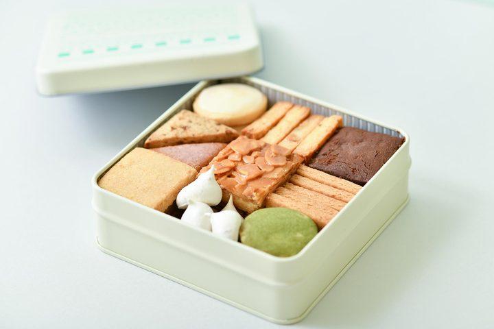 クッキー缶、かおクッキーは4/25 9時から通販限定で販売開始