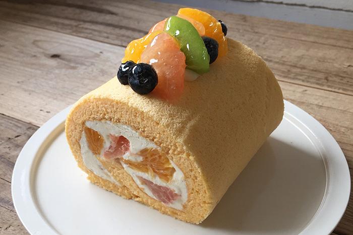 製菓教室「ロールケーキ」