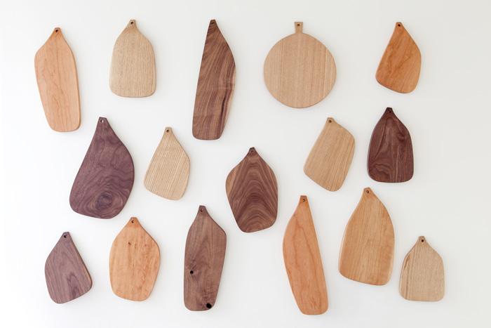 太郎木工のカッティングボード展