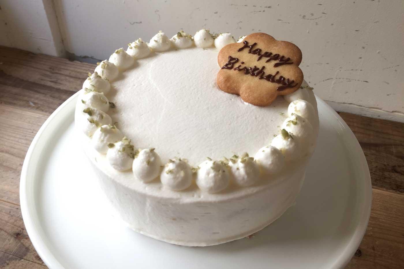 Afterhoursのバースデーケーキ「桃」