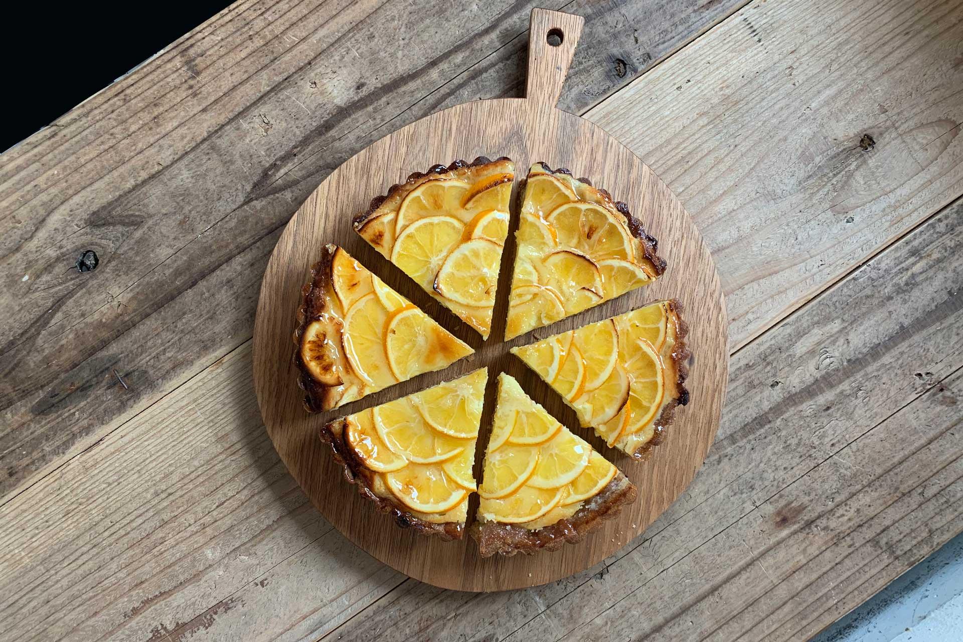 マイヤーレモンのタルトは2月下旬ごろまでご用意する予定です。
