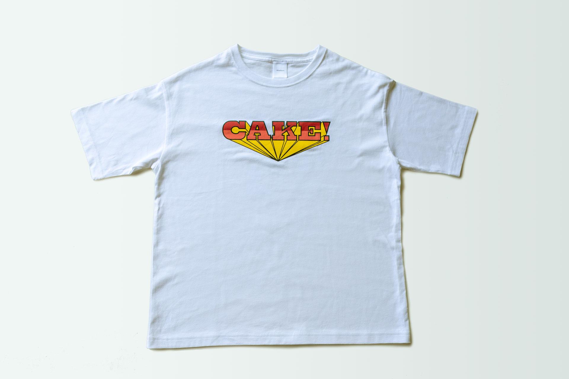 Afterhours T-Shirt「CAKE!」クッキー付