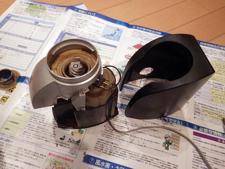 復活しなかった デロンギ「コーン式」コーヒーグラインダーKG-100