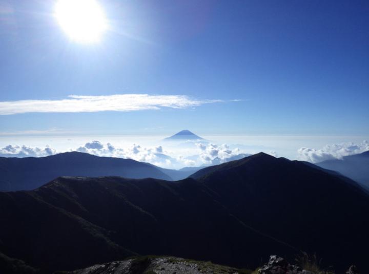 初めての南アルプス 塩見岳(鳥倉ルート)