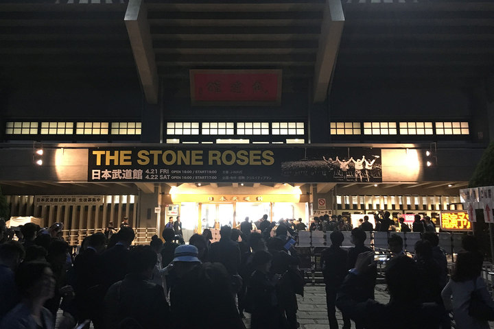 THE STONE ROSES @ 日本武道館