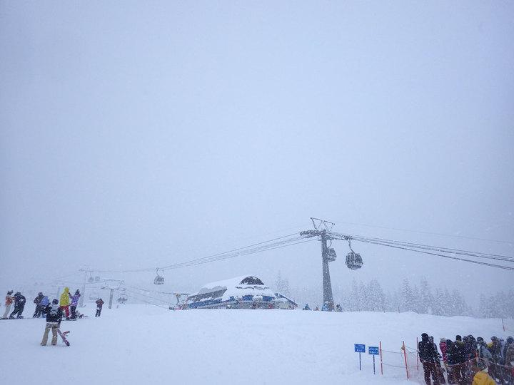 初スキー@舞子スノーリゾート