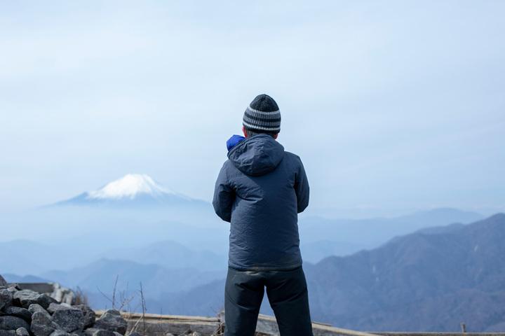 パパハイキング 塔ノ岳