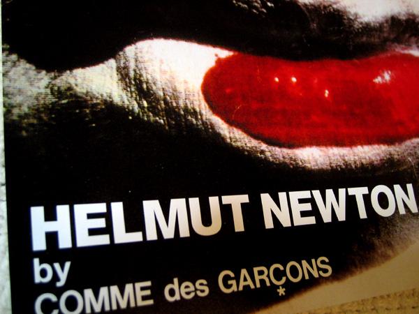 HELMUT NEWTON by COMME des GARCON