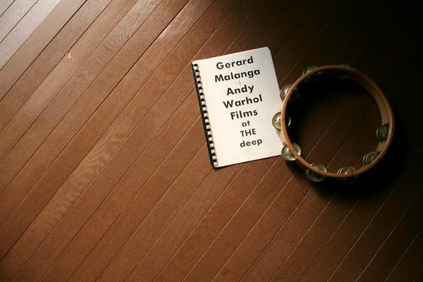 Gerard Malanga + Andy Warhol