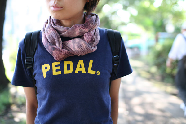 Pedal. T-shirt