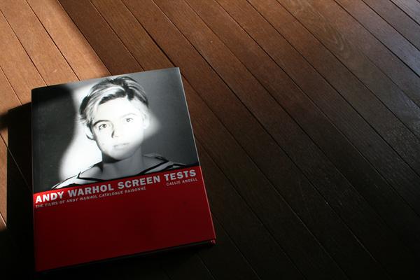 ANDY WARHOL SCREEN TEST