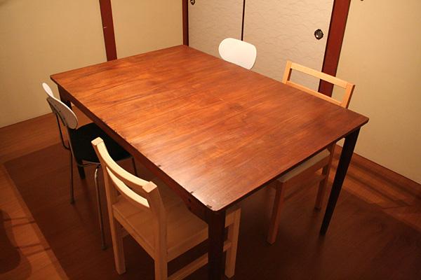 フィン・ユールさんのテーブル