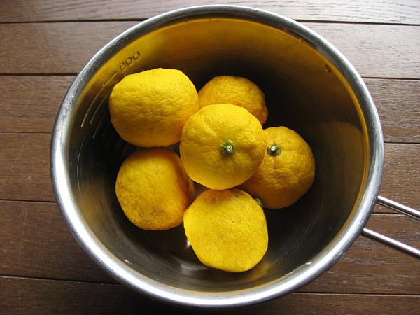 柚子のマーマレード