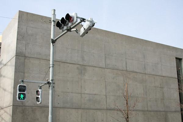 秋田道夫さんの「LED式薄型歩行者用灯器