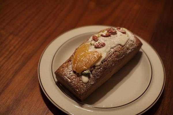 ピスタチオのパウンドケーキ