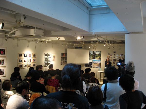 平間至さんとMOTOKOさんのトークショー