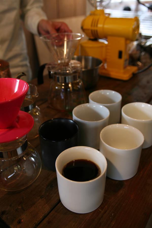 Afterhoursの自家焙煎コーヒー豆 photo by Yoko Furuta