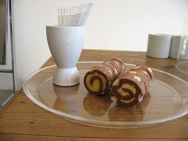 Afterhoursのマーブルロールケーキ