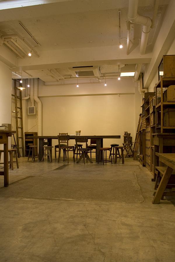 秘密の地下室カフェ@早稲田LIFT