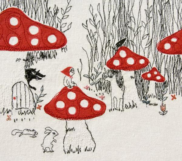 MICAOの赤頭巾展「よりみちこみち」