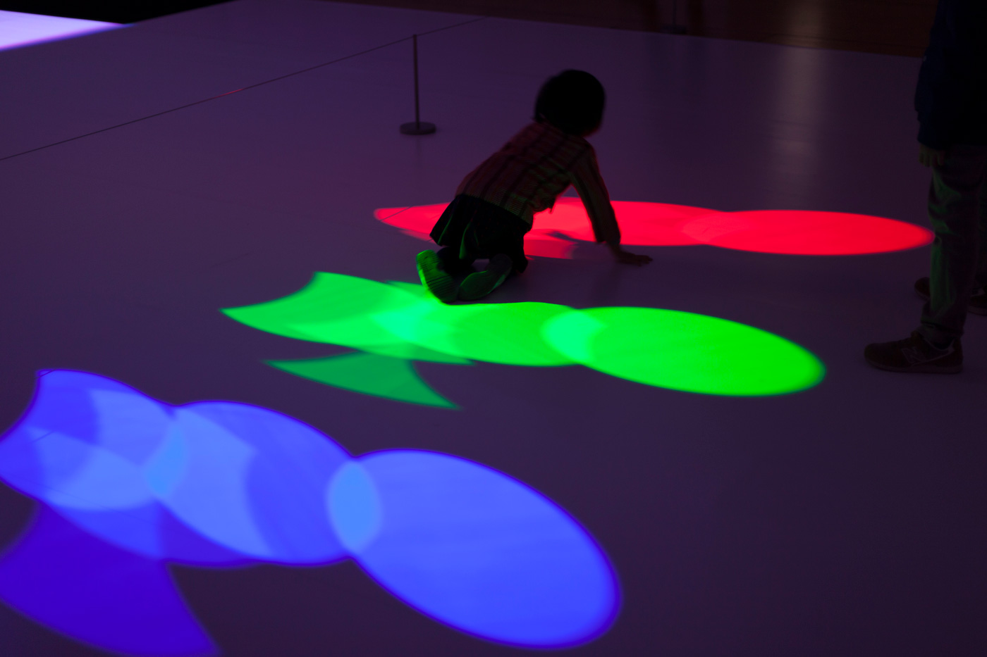 RGB|CMYK Kinetic by Rhizomatiks Reasearch @ ICC