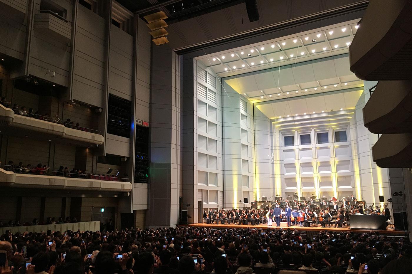 ジェフ・ミルズ×東京フィルハーモニー交響楽団@Bunkamura オーチャードホール