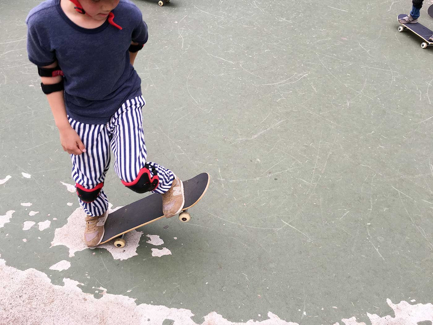 世田谷公園スケートボードスクール