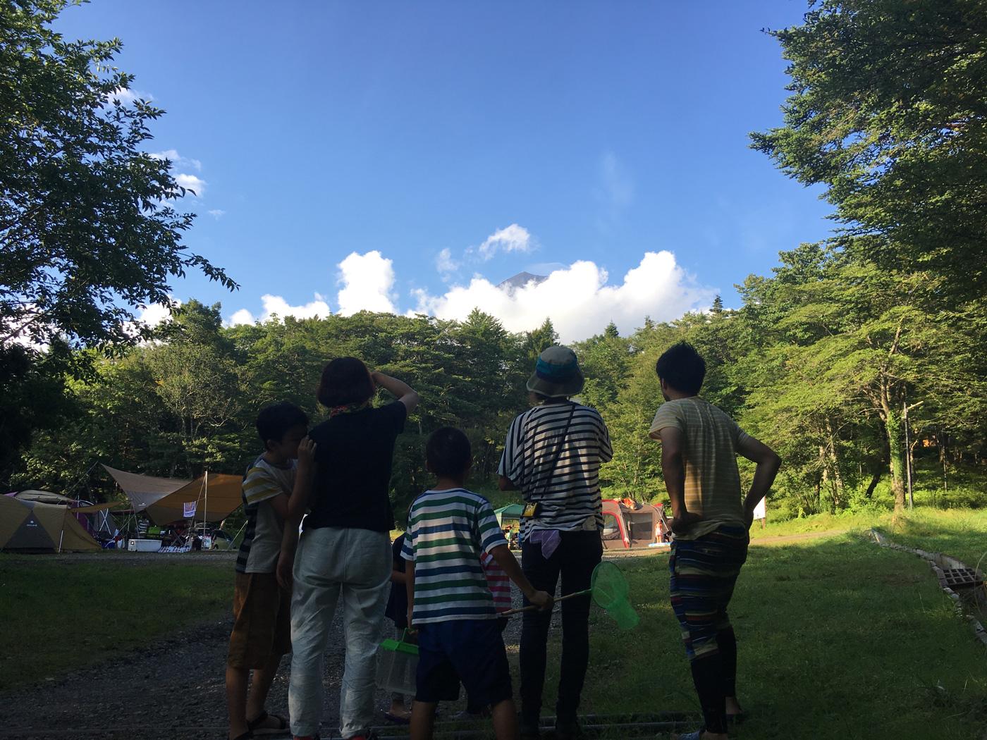 キャンプ@PICA表富士