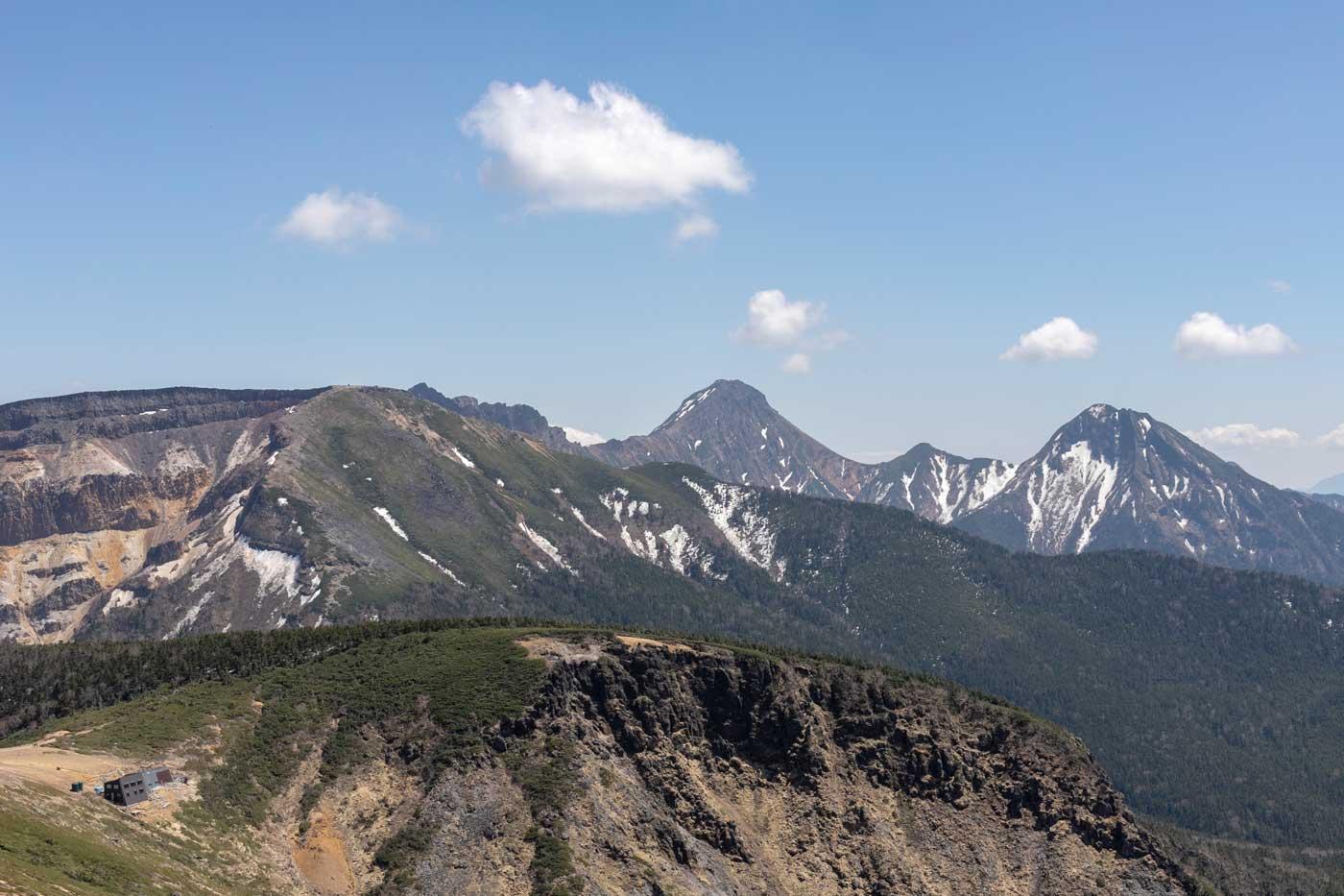 天狗岳(唐沢鉱泉から東〜西周回)