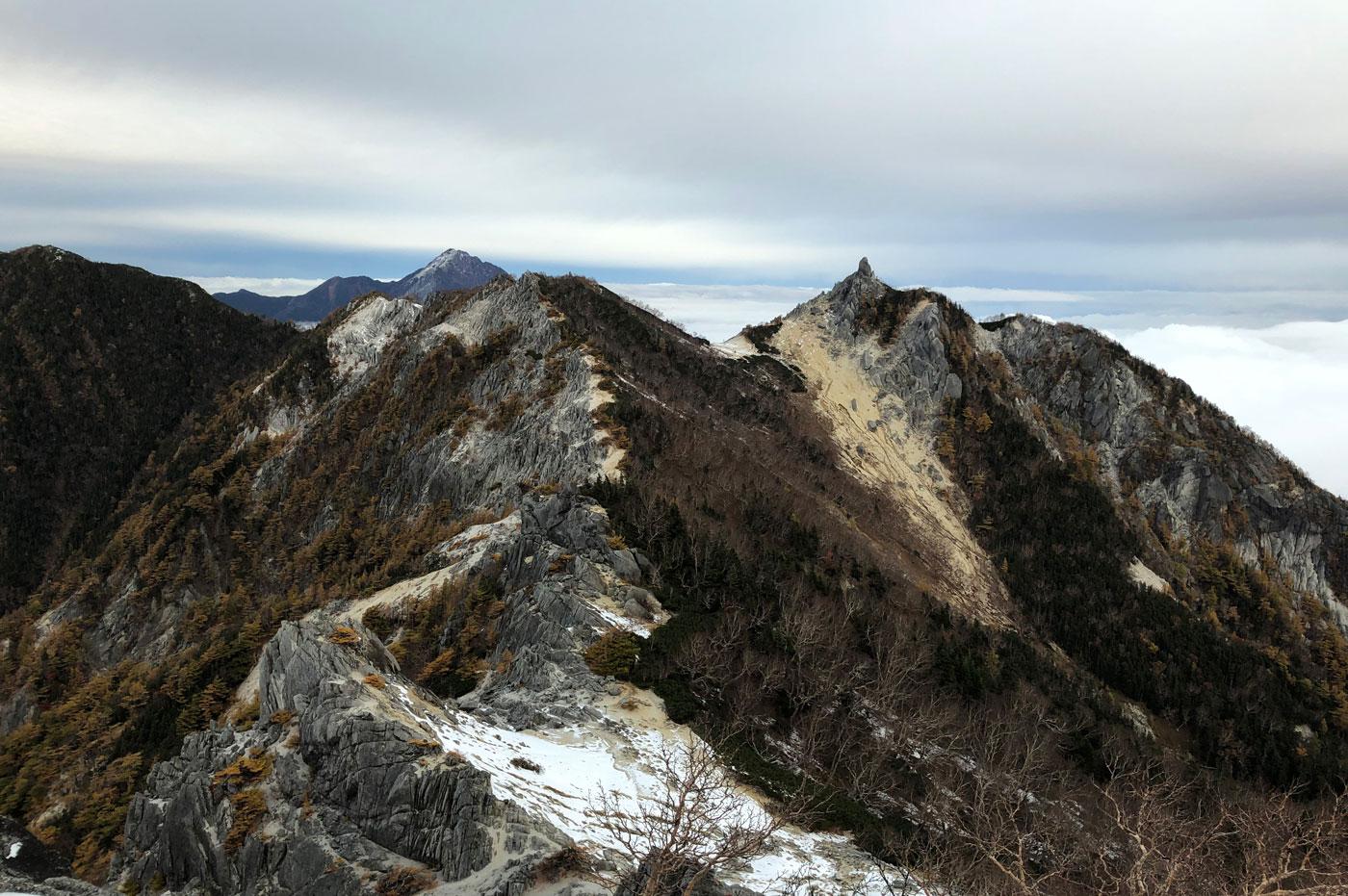 地蔵岳 オベリスク